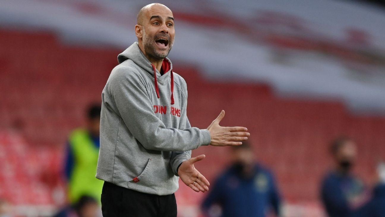 Guardiola: Team leaks 'unprofessional, unethical'