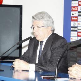 "ATLETICO MADRID chairman Cerezo: ""SIMEONE's happy here with us"""