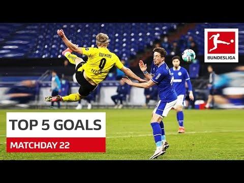 Top 5 Goals • Haaland, Sabitzer & Co. | Matchday 22 - 2020/21