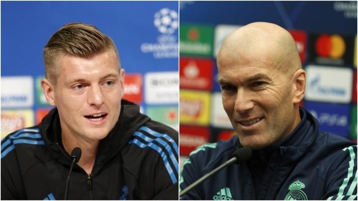 Kroos: Real Madrid must defend well against Atalanta