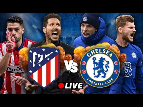 ATLÉTICO MADRID vs. CHELSEA | LIVE WATCHALONG
