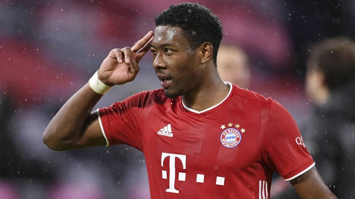Alaba has an offer from PSG