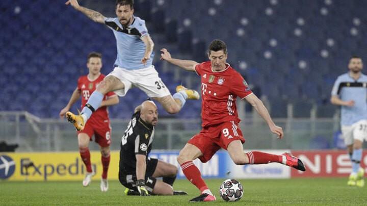 Lewandowski knocks Raul off Champions League goalscoring podium