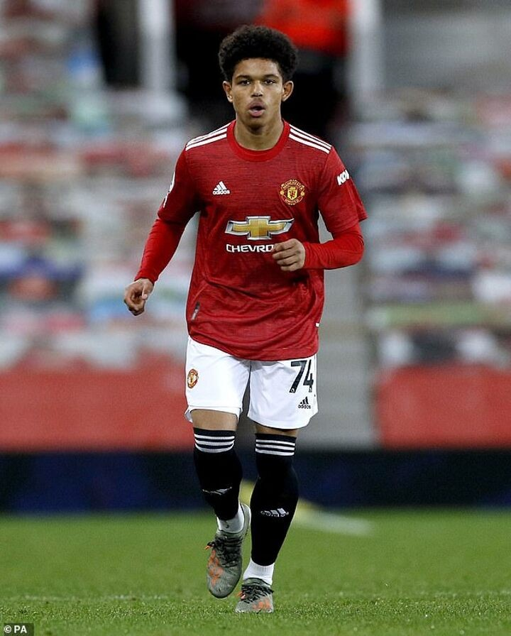Manchester United wonderkid Shola Shoretire was released by Man City aged 10