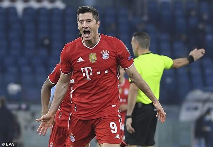 Lazio 1-4 Bayern Munich: Robert Lewandowski leads Bayern to comfortable victory
