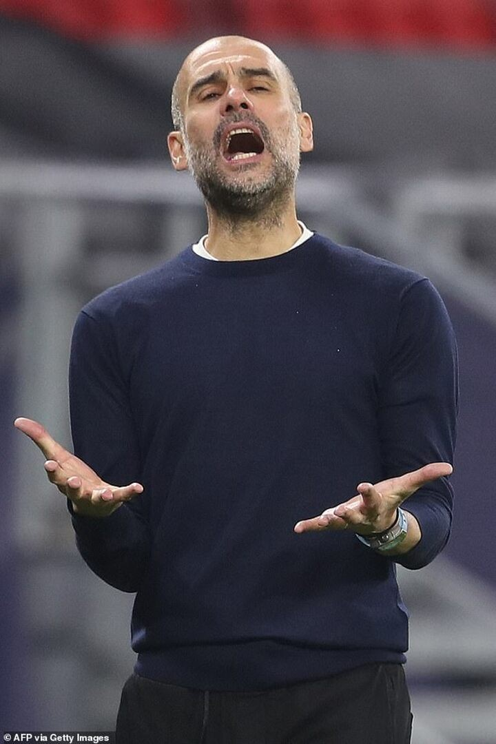 Guardiola says Man City must be 'more clinical' despite 19 wins in a row