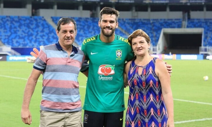 Alisson Becker's father has disappeared after diving into a dam in Brazil