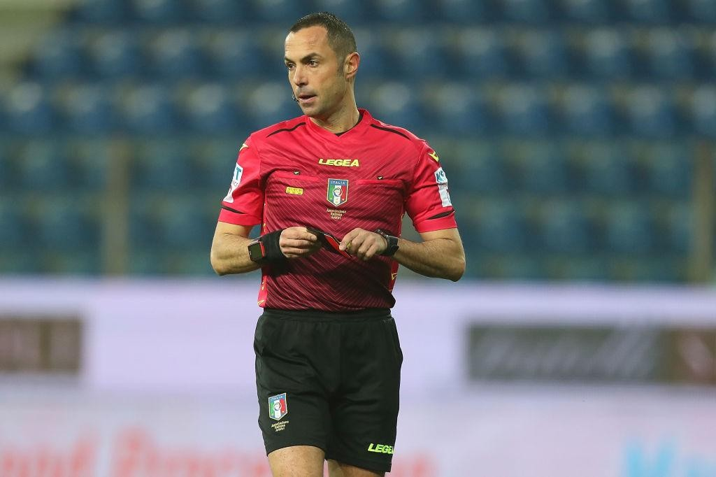 SERIE A TIM, THE REFEREES FOR THE 24TH ROUND