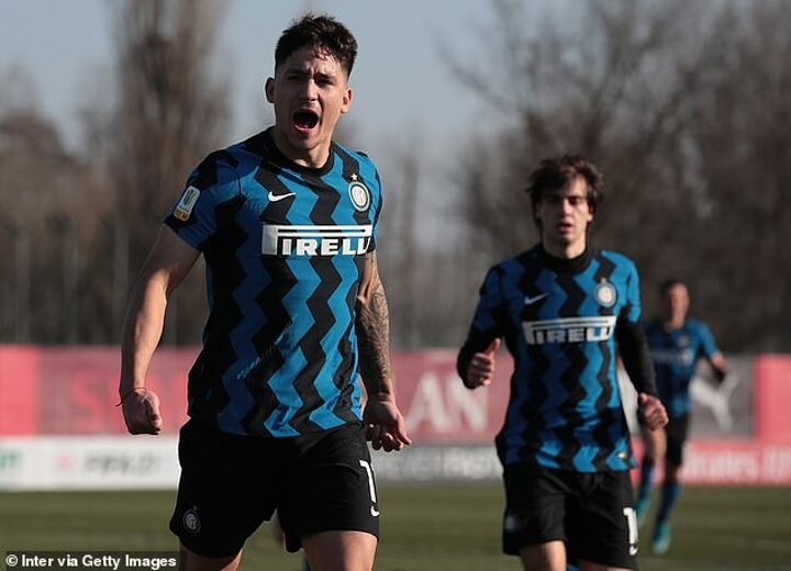 Inter's Martin Satriano is 'flattered' to be linked with Arsenal and Chelsea