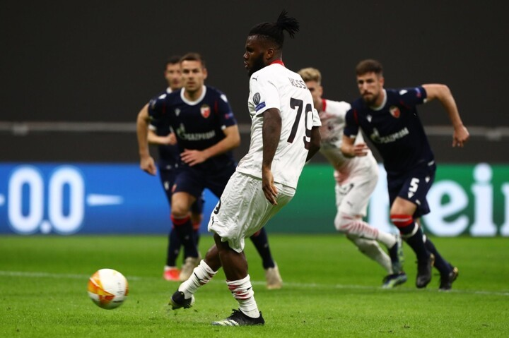 Milan 1-1 Red Star (3-3 agg): Rossoneri scrape through to last 16 on away goals