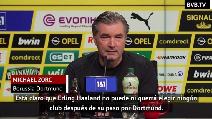 Zorc: Haaland can't and won't pick just any club after Dortmund