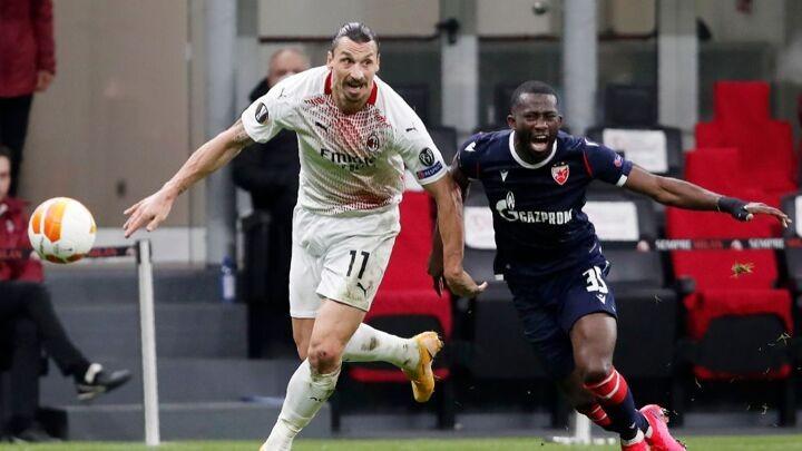 Away goals see AC Milan past Red Star
