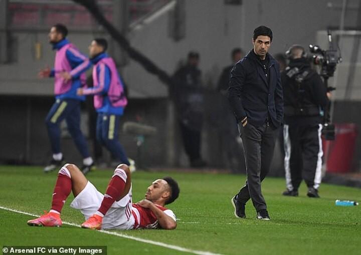 'I completely trust him': Mikel Arteta lauds Arsenal captain Pierre-Emerick Aubameyang