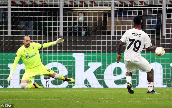 Europa League round-up: AC Milan draw with Red Star Belgrade, while Roma beat Sporting Braga