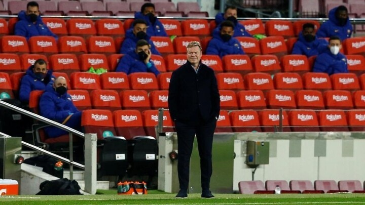 Koeman: There is pressure on everyone, not just Barcelona