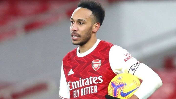 Arsenal manager Arteta praises mentality of captain Aubameyang