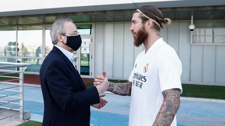Florentino and Ramos, mummy and daddy