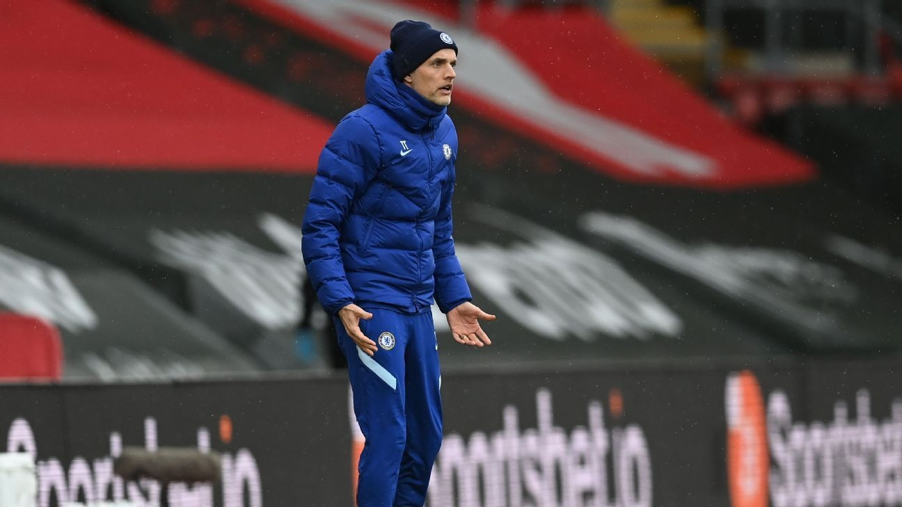 Tuchel: I was in a 'dark place' after Man Utd loss