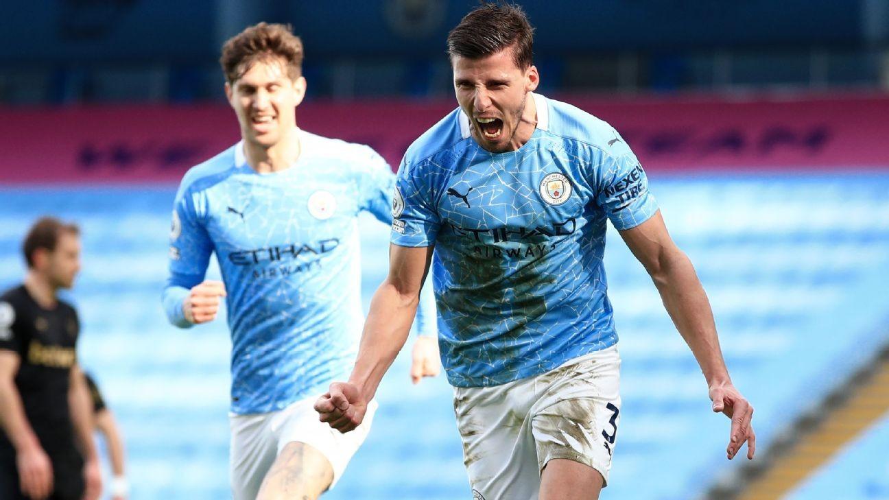 Man City extend winning run to 20 games