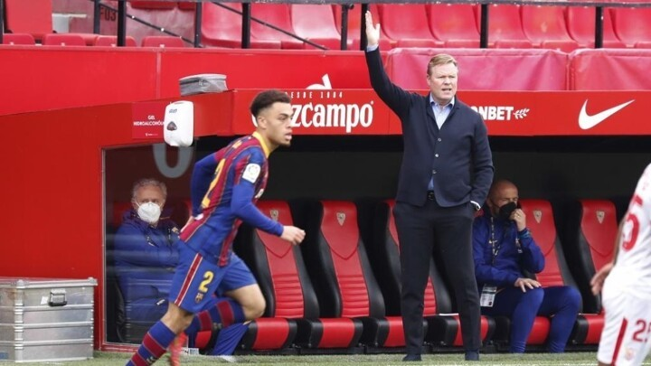 Koeman: Barcelona's work without the ball was key against Sevilla
