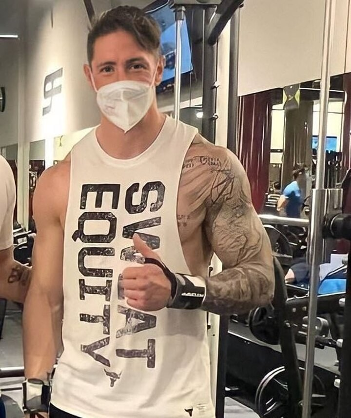 Former Liverpool star Fernando Torres continues to shock supporters with his 'ripped' new physique