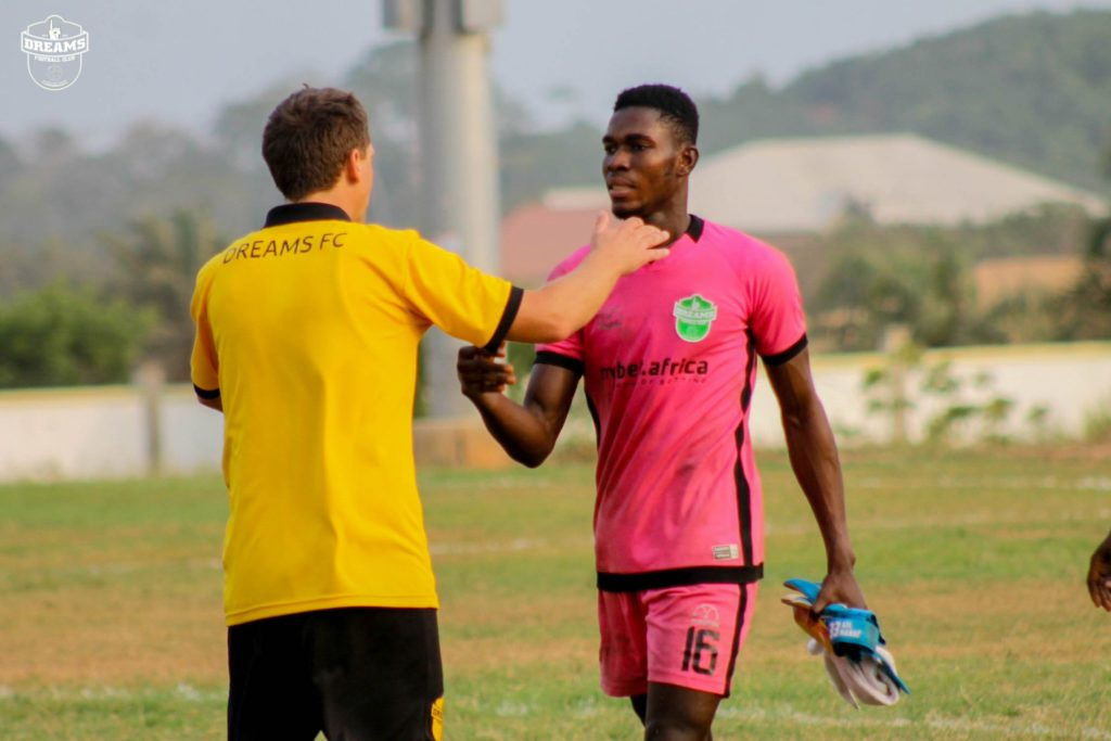 Dreams FC coach Vladislav Viric proud of his players after return to victory against Ashantigold