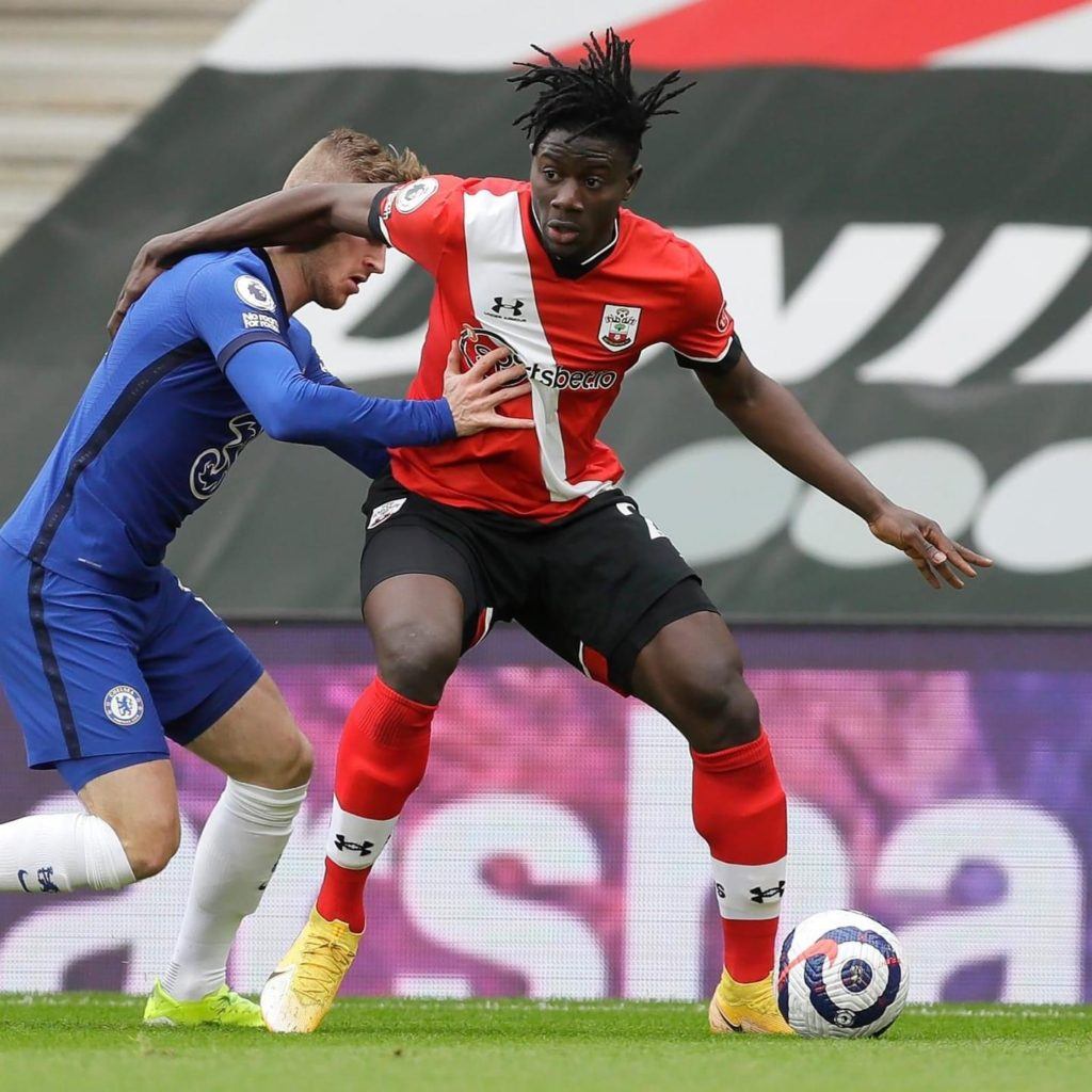 Mohammed Salisu impresses on first EPL start as Southampton hold Chelsea