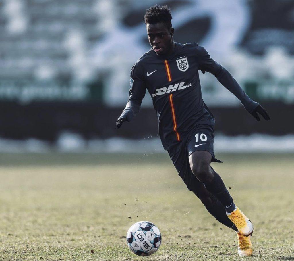 Ghana forward Kamaldeen Sulemana tops best dribblers list in Europe