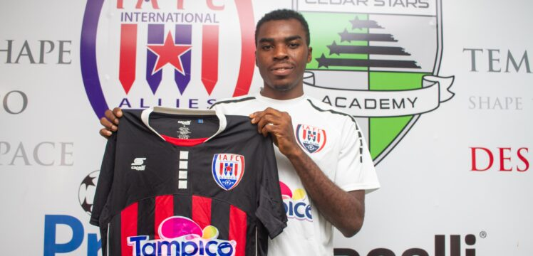 Inter Allies announce signing of Nigerian youngster Kingsley Fidelis Kuku
