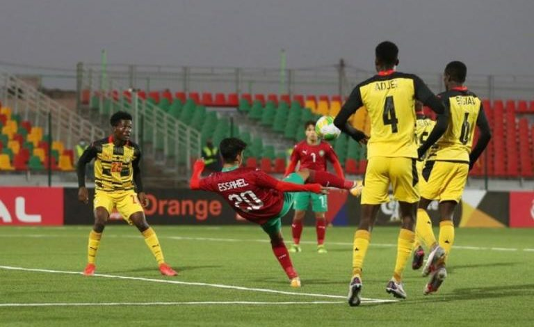 2021 U-20 AFCON: Ghana draw blank against Morocco in Group C