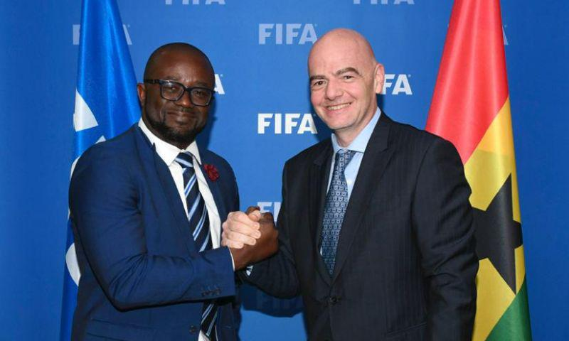 Ghana FA receive 2nd share of FIFA COVID-19 relief package