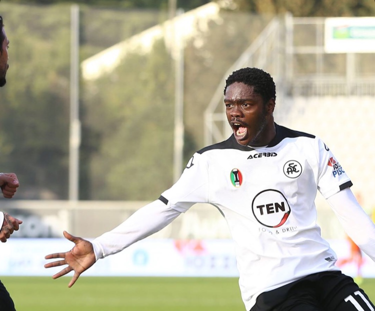 Brace-hero Emmanuel Gyasi delighted to secure point for Spezia in draw against Parma