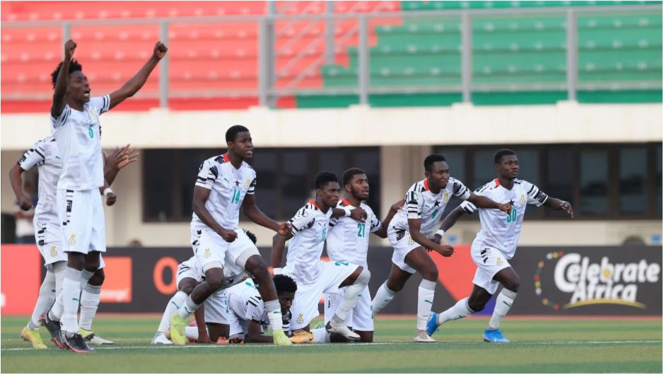 VIDEO: Black Satellites players dance to Stonebowy's Putuu song after reaching U20 AFCON semis