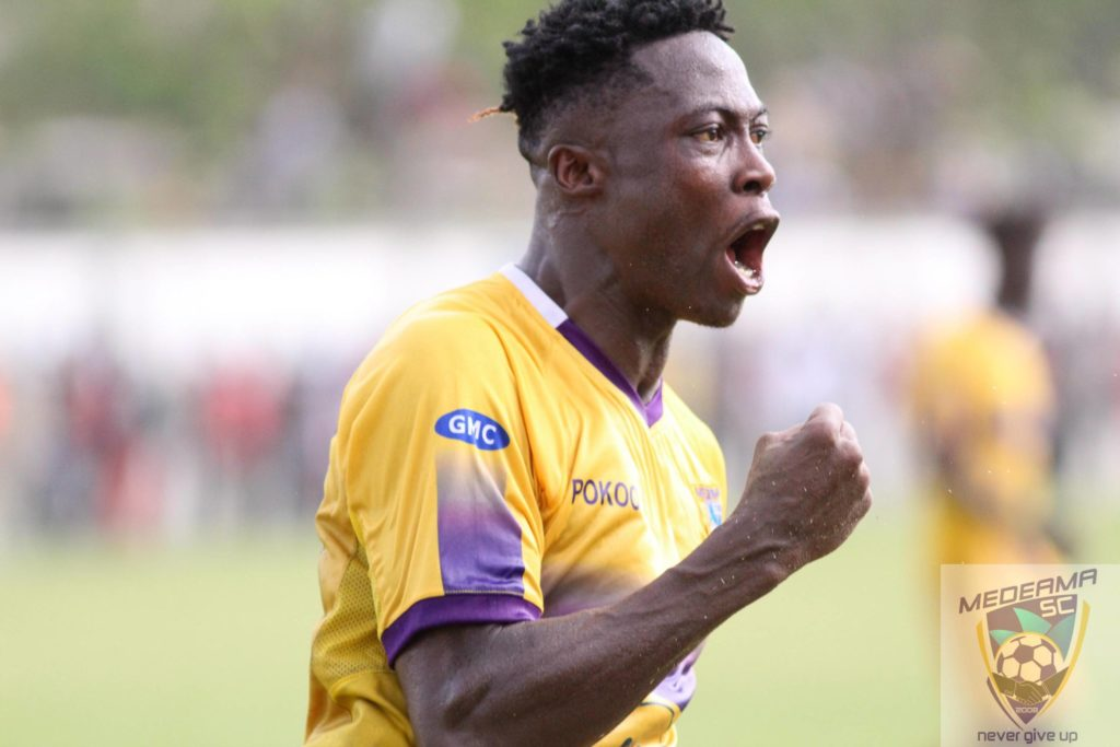 Medeama name asking price for Asante Kotoko target Justice Blay