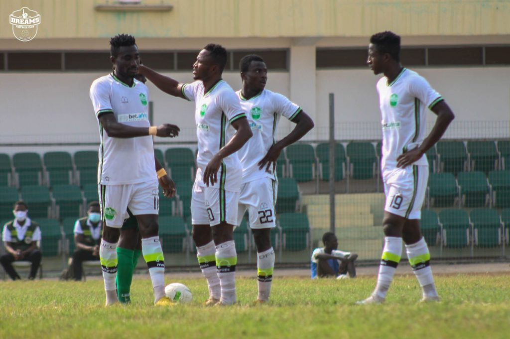 2020/21 Ghana Premier League: Week 23 Match Preview — Dreams FC v King Faisal FC