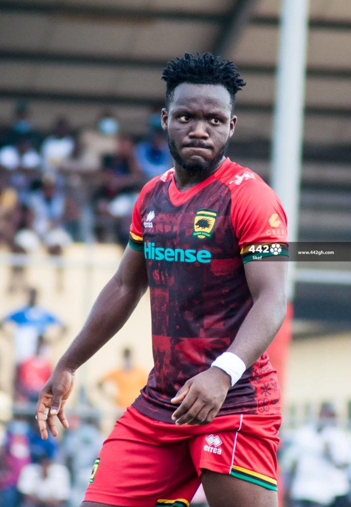Emmanuel Sarkodie blames injuries for his struggles at Asante Kotoko
