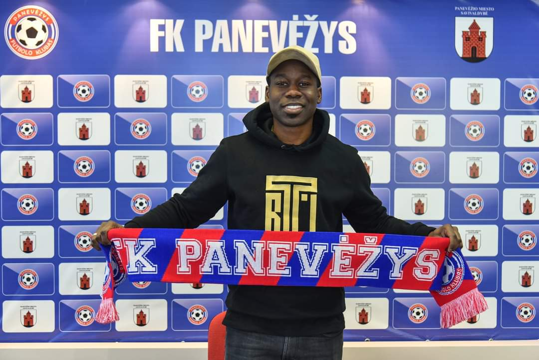 Lithuanian club FK Panevezys sign Ghanaian forward Jeffrey Sarpong