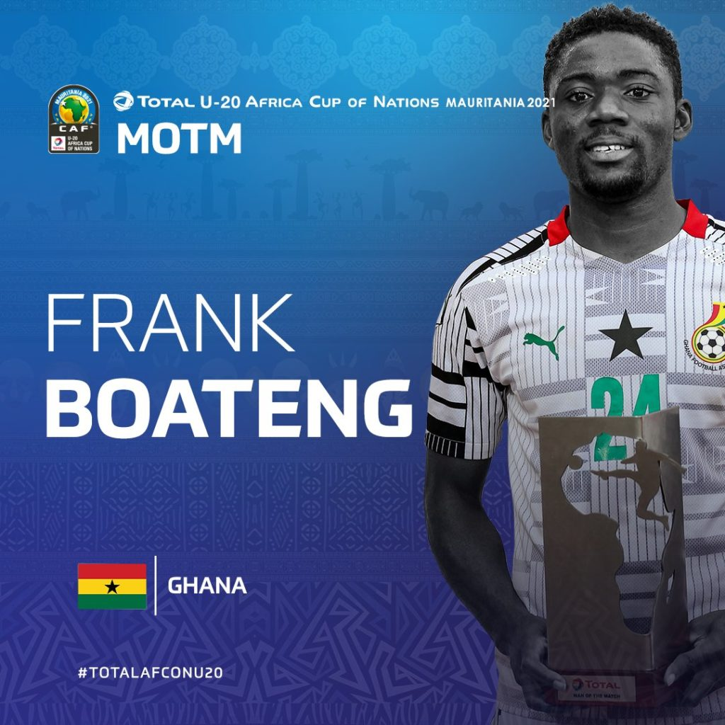 CAF U-20 Cup of Nations: Ghana favourites to win tournament- Frank Boateng