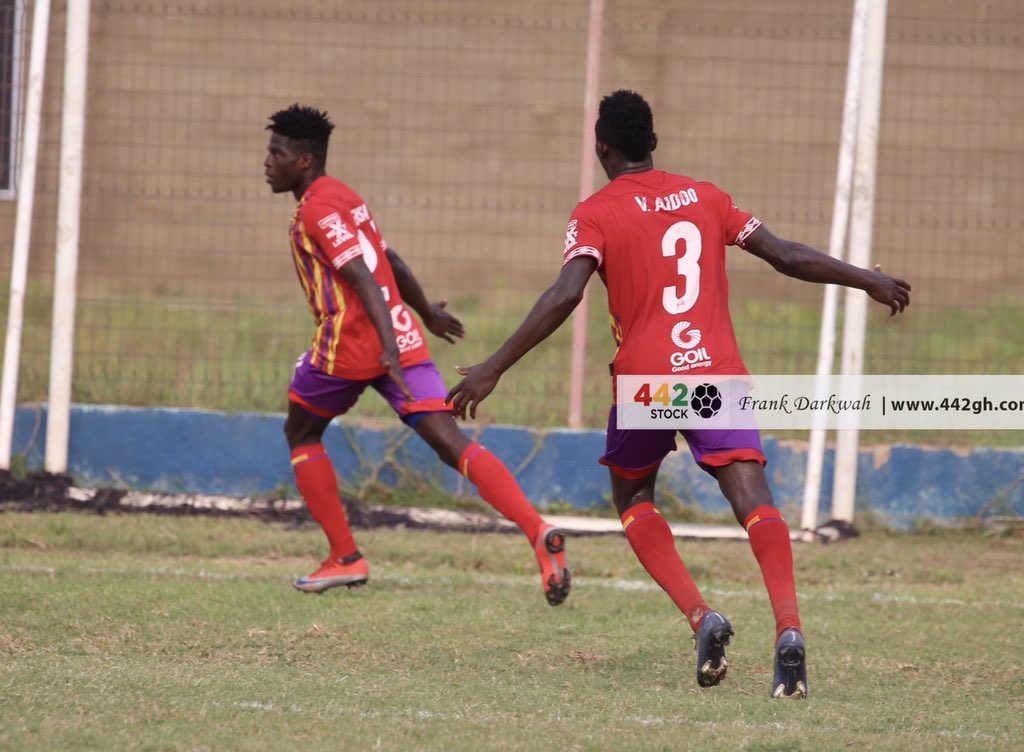 VIDEO: Watch highlights of Hearts of Oak's victory at Liberty