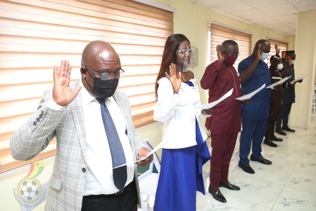 New GHALCA Executives sworn into office