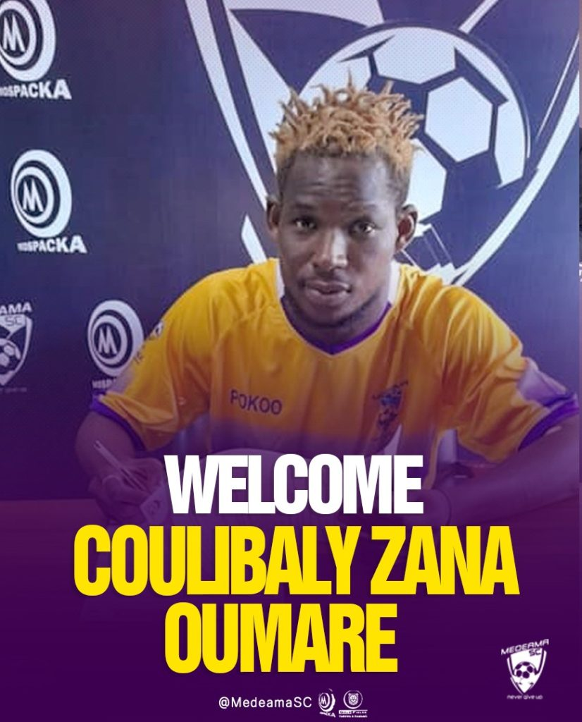 OFFICIAL! Medeama announce signing of former Simba and AS Vita defender Zana Oumar Coulibaly