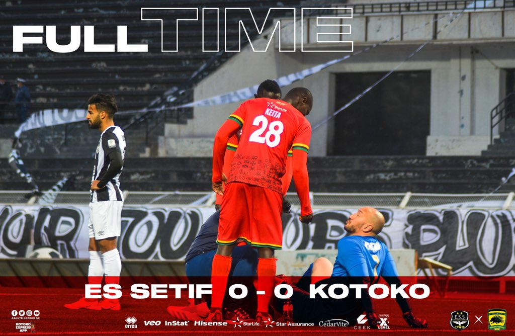 VIDEO: Asante Kotoko bow out of CAF Confederation Cup after goalless draw with Setif