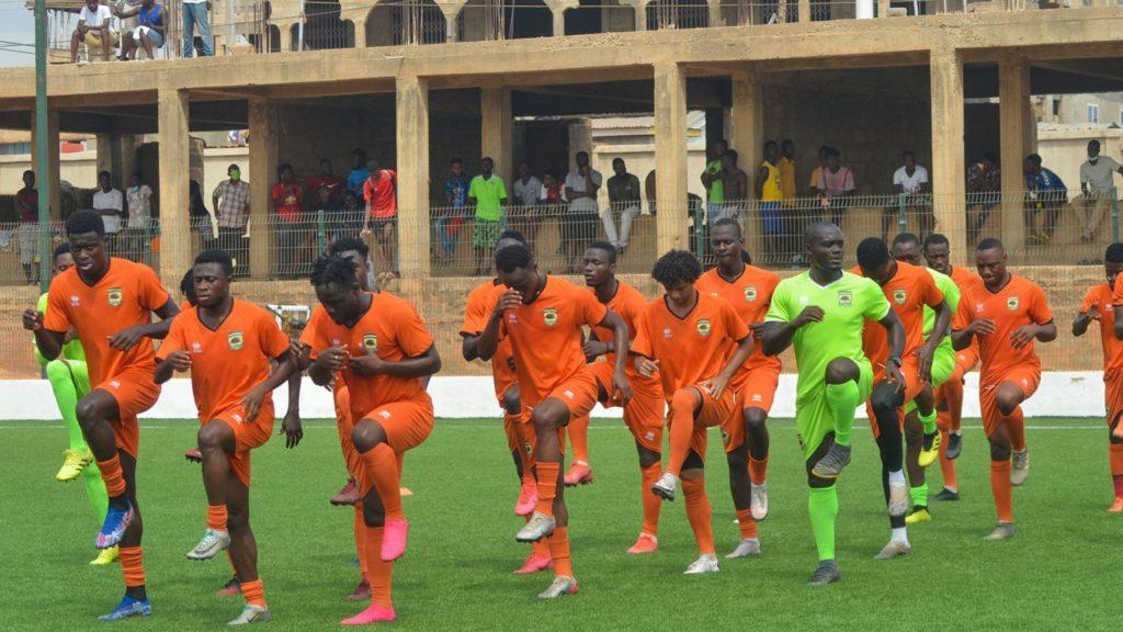 PICTURES: Asante Kotoko intensify training ahead of ES Setif clash