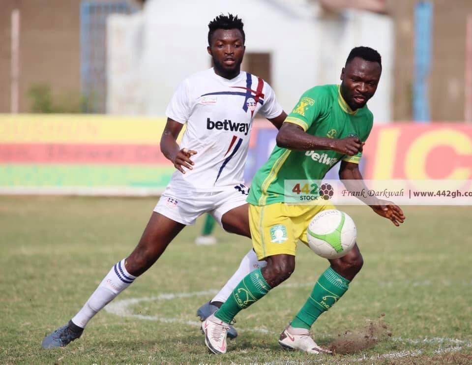 2020/21 Ghana Premier League: HIGHLIGHTS- Liberty, Aduana Stars share spoils