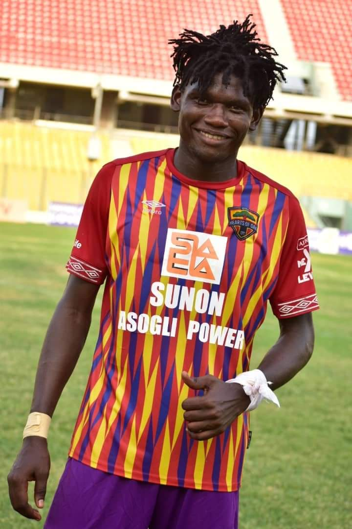 Raddy Ovouka adds to Hearts of Oak woes ahead of Dreams FC clash