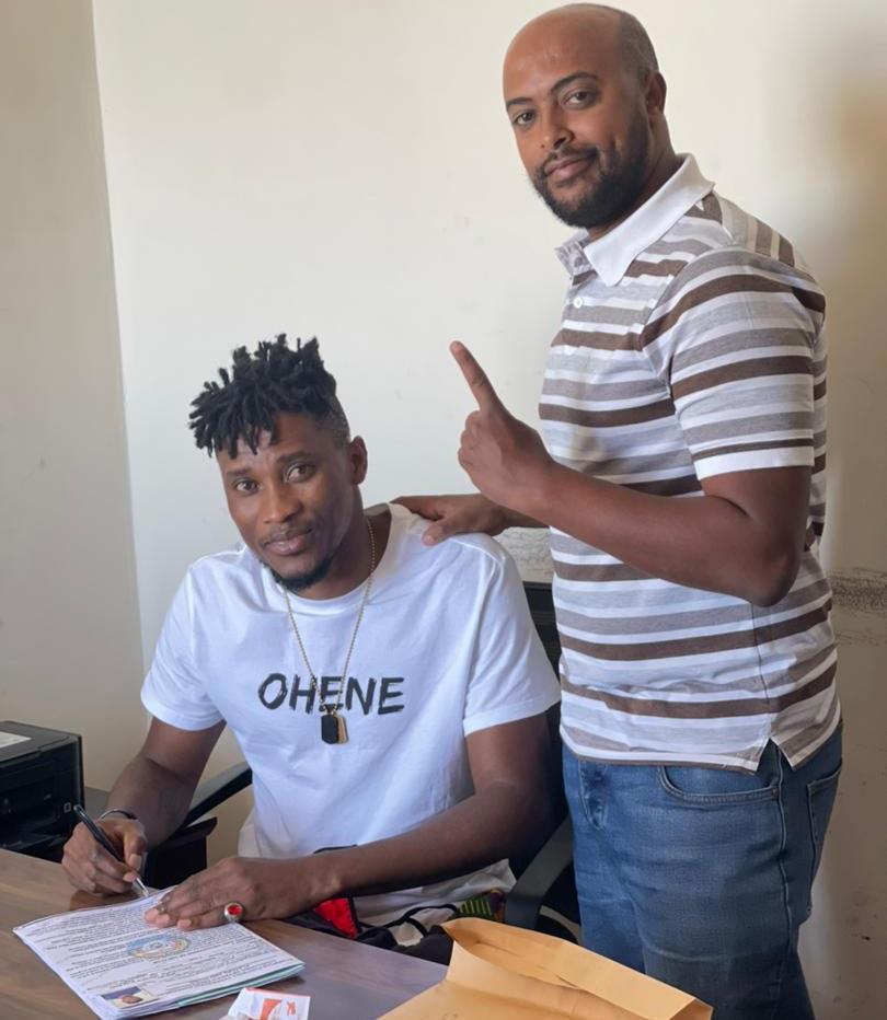 EXCLUSIVE! Former Ghana goalkeeper Daniel Agyei joins Ethiopian top division club Wolaita Dicha