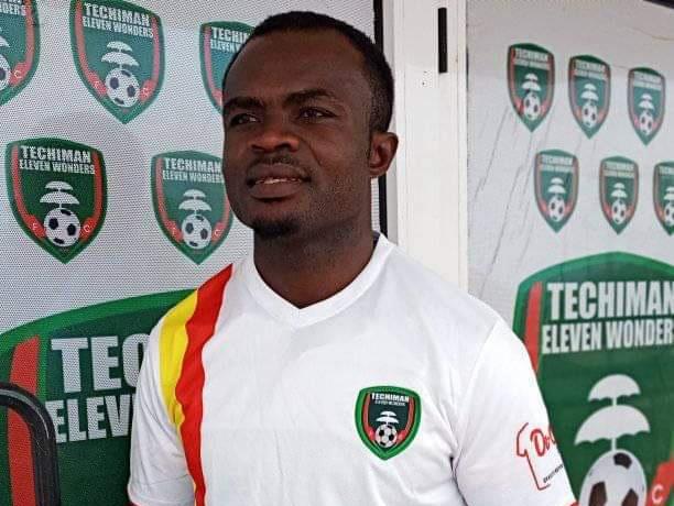 Former Asante Kotoko skipper Amos Frimpong completes move to Techiman Eleven Wonders