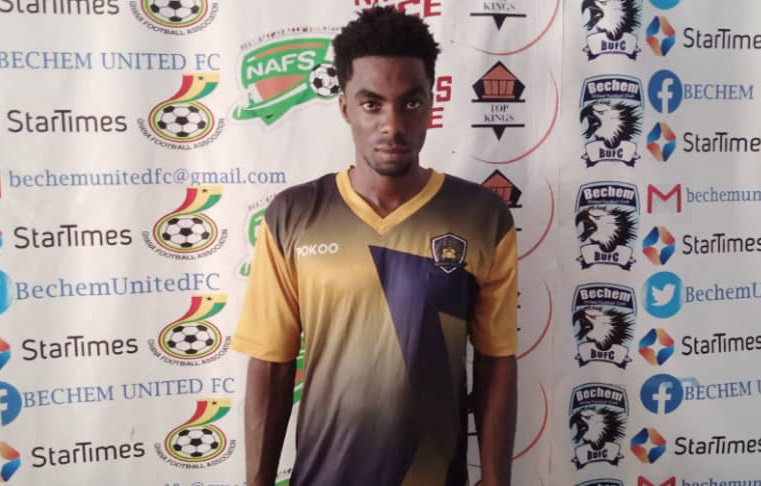 2020/21 Ghana Premier League: Ebusua Dwarfs midfielder Benjamin Acquah wins 4th MVP award of the season in draw against Bechem United