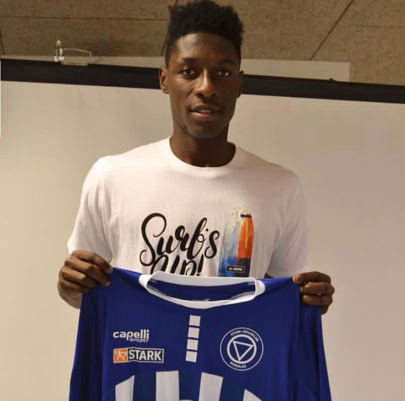 Ghana U20 defender Frank Assinki signs for Danish club KFUM Roskilde