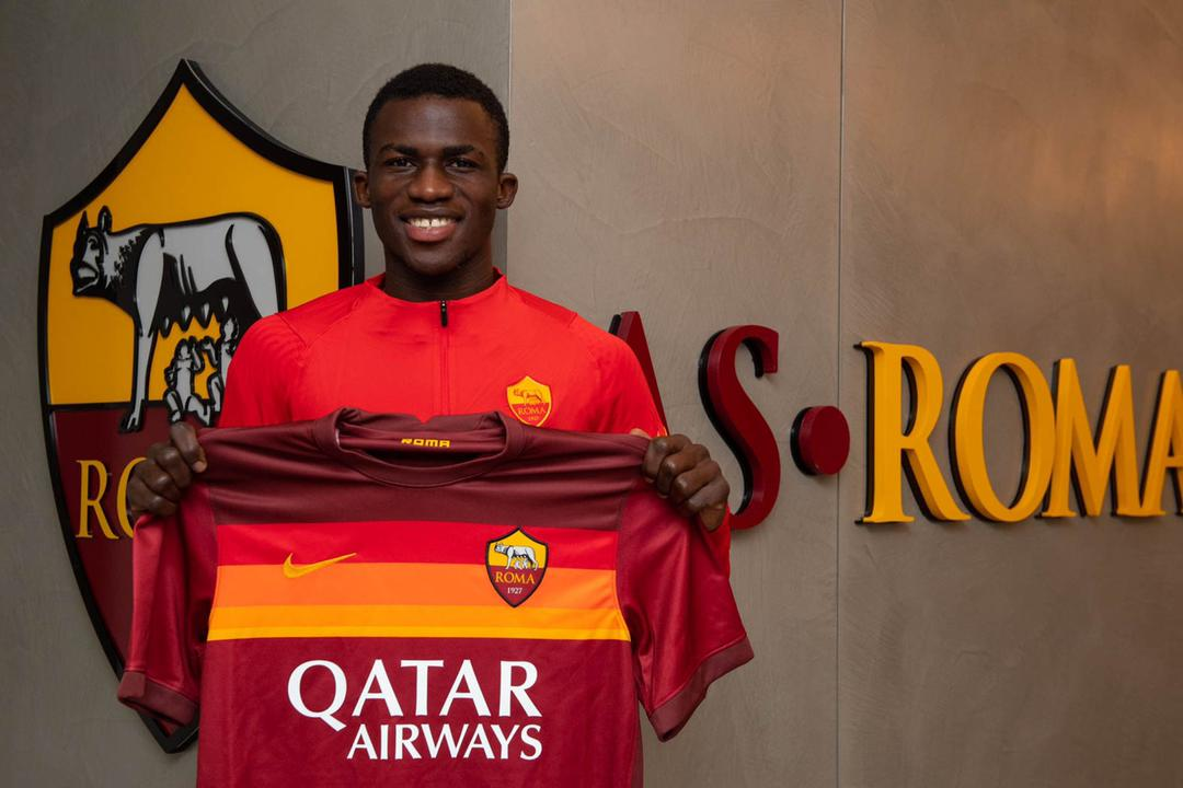 Felix Afena Gyan: The story of AS Roma's latest gladiator from Ghana